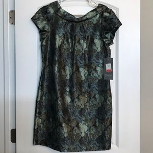 NWT THEIS Floral pattern Cocktail Dress - Size 8